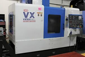 Kia Vx 500 Vertical Cnc Mill With New Xyz Bearings Quality