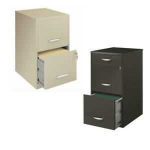 value Pack 2 Drawer Letter File Cabinet And 3 Drawer File Cabinet