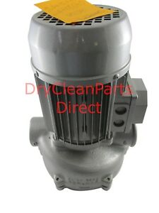 New Union 1hp Pump 240v 60hz 3 Phase 0702173 For Dry Clean Hydrocarbon Machine