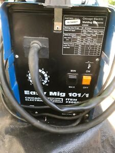 Chicago Electric Easy Mig 101 1 120v 90amp Flux Wire Welder W spool