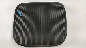 Herman Miller Aeron Chair Seat Mesh Black Pellicle W Blemish Size C Large 59