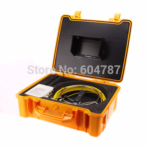 30m Sewer Pipe Waterproof Camera Pipeline Drain Inspection Systemcctv Dvr System