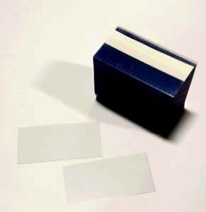 Gondola Clear Plastic Shelf Strips Chips For Price Tags 3 5