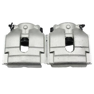 New Pair 2 Front Brake Caliper Fits 01 10 Bmw X3 330ci 330xi Z4 3 0l