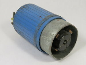 Hubbell 26519 Hubbellock Plug 60a 600vac 5w 4p Used