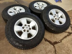17 Toyota Tacoma Oem Wheels Rims Tires 2015 2016 2017 2018 4runner Fj 69463