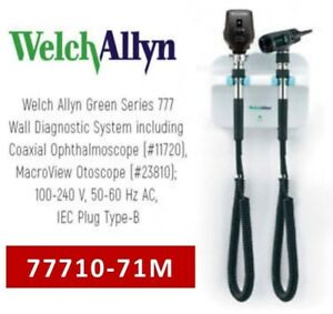 Welch Allyn Gs 777 3 5v Wall Diagnostic System W Ophthalmoscope