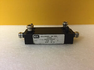 K l Microwave Wsddc 00002 800 To 980 Mhz Coax Dual Directional Coupler Tested