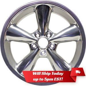 New 18 Replacement Polished Alloy Wheel Rim For 2006 2009 Ford Mustang Gt