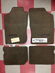 1996 2002 4runner Carpet Floor Mats Oak Beige Pt206 89010 14 Genuine Toyota