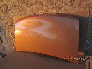 2000 Mazda Mx 5 Miata Rear Trunk Boot Lid Orange Oem
