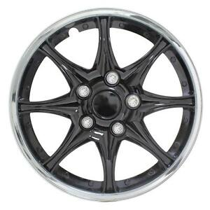 Chrome 15 Inch Wheel Covers Car Wheel Covers For Car Tires Fits Mazda Black