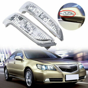 Car Rearview Turn Signal Light Rh Lh Side Mirror Led Lamp For Acura Rl 05 2012