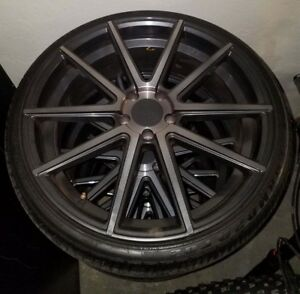 20 F1r Rims With 5 Tires