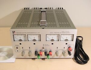 Topward Tps 4000 Triple Output Power Supply Dual 0 30vdc 2a 5vdc 3a Lab Tested