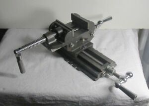 2 Way 3 1 4 Drill Press X y Compound Vise Cross Over Slide Mill Drill Press