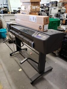 Hp Design Jet 800 42 Large Wide Format Printer 2 Hp Coated Paper 42x150