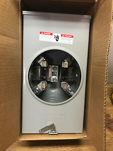 Siemens Suat317 opqg Overhead Ringless Meter Socket 200a Outdoor Enclosure