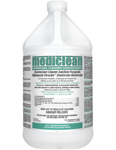 Prorestore Mediclean fka Microban Germicidal Cleaner Concentrate Lemon 1g