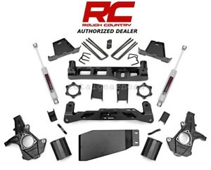 2007 2013 Chevrolet Gmc 1500 4wd 7 5 Rough Country Lift Kit W n3 264 20