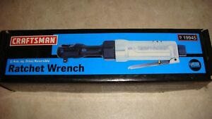 Craftsman 1 4 Inch Drive Mini Pneumatic Ratchet Wrench N i b
