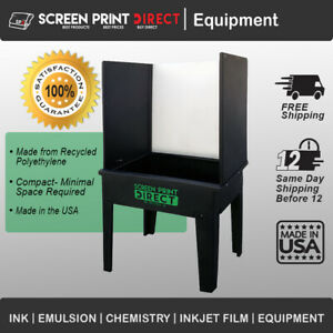 Screen Printing Washout Booth Tank Kit Booth Made In The Usa Free Shipping