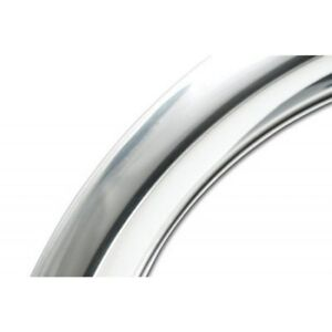 Coker 15 Trim Ring 2 5 Step Stainless Steel For 15x7 Chevy Rally Wheel
