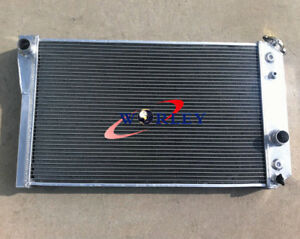 4row Aluminum Radiator For Chevrolet Chevy S10 W V8 Conversion At Mt 82 2002