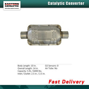Eastern Catalytic Converter universal For Audi 100 1989 Chevrolet C20 1983 1986