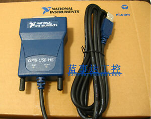 Us Gpib usb hs 778927 01 Usb Gpib Data Acquisition Cable Card New Box