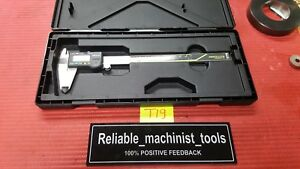 excellent mitutoyo Japan Made 8 In Absolute Digital Caliper machinist Tool t19