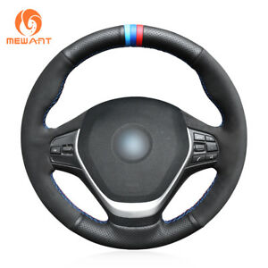 Suede Leather Steering Wheel Cover For Bmw F20 F45 F30 F31 F34 F32 F33 bm160