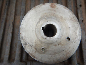 Older Machine Double V Belt Pulley 1 1 8 Bore 5 1 8 Diameter