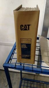 Cat Caterpillar 140g Motor Grader Service Shop Repair Book Manual
