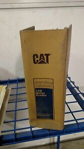 Cat Caterpillar 14g Motor Grader Service Manual