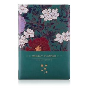 Weekly Monthly Planner For Master Goals Management Productivity Academic Agenda