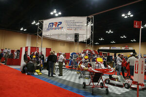 Trade Show Complete Display Swiss Trak Flooring And Aluminum Stand