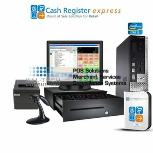Pcamerica Cre Pos Cash Register Express For Cell Phone Stores Cell Accessories