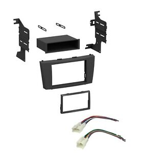 Car Stereo Radio Dash Install Kit With Harness Toyota Camry 2007 2012