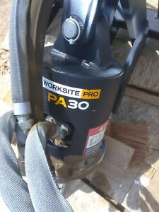 John Deere Worksite Pro Pa30 Skid Steer Attachment With Auger