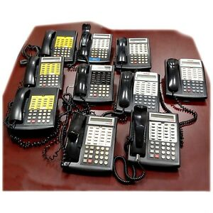 At t Avaya Lucent Office Business Phones Corded Phone Black 10 Pack