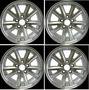Brand New Set Of 4 16 Alloy Wheels Rims Fits 2005 2009 Ford Mustang V6