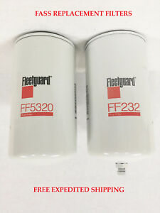 Fleetguard Fass Fuel System Replacement Filters Powerstroke Cummins Duramax