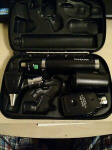 Welch Allyn 71910 25020a 11720 71900 Otoscope Ophthalmoscope Set Charger