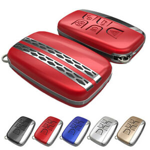 Abs Smart Remote Key Fob Case Car Cover Shell Fit Landrover Range Rover Sport