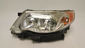 2009 2013 Subaru Forester Left Driver Headlight Lamp Halogen 09 10 11 12 13 Oem