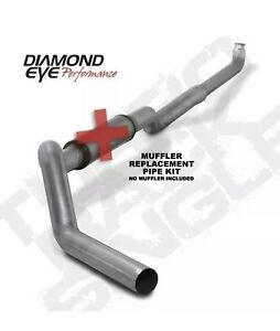 Diamond Eye 5 Exhaust K5118a rp Duramax 2001 2010 01 10 Straight Pipe 5in