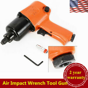 1 2 Twin Hammer Air Impact Wrench 570ft Lb Air Tool Gun High Torque Pistol Usa