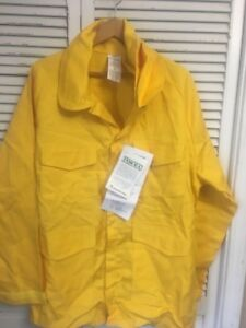 Pgi Indura Wildland Fire Fighter Garment Jacket Made Usa Adult L Nwt Old Stock