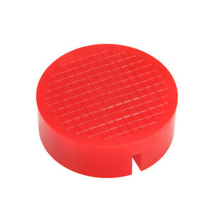 1 Ea Universal Red Floor Jack Disk Pad Adapter For Pinch Weld Side Jackpad H4x5